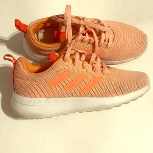 Adidas Girls Cloudfoam Athletic Running Shoe-1